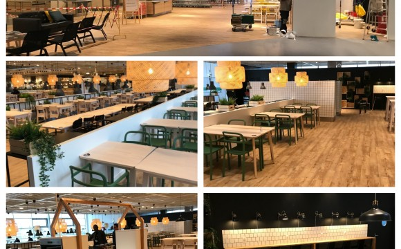 IKEA TOURS – Réaménagement du restaurant