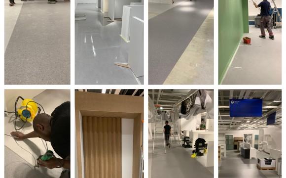 IKEA TOURS – TRAVAUX