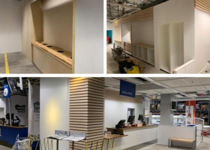 Réfection de la zone SAV sur Ikea Grenoble