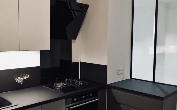 Pose de cuisine