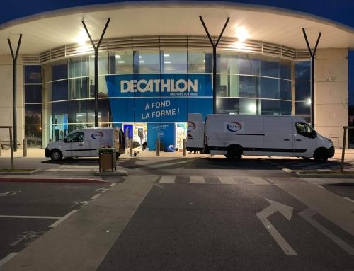 Réfection du SAS de Decathlon à Brétigny-sur-Orge